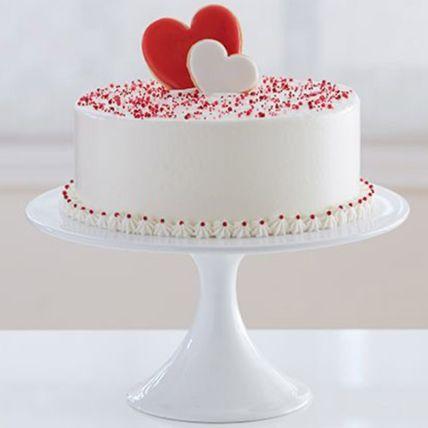 Elegant Love Red Velvet Cake 1.5 Kg