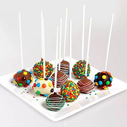 Belgian Chocolate Cake Pops