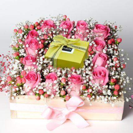 Beautiful Valentines Day Roses Arrangement