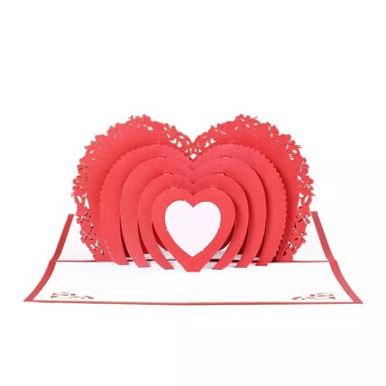 Have My Heart 3D Love Card