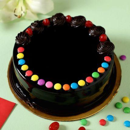 Delicious Truffle Gems Cake Half Kg