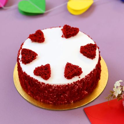 Red Hearts Velvet Cake 1.5 Kg