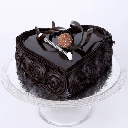 Special Floral Chocolate Cake 1 Kg
