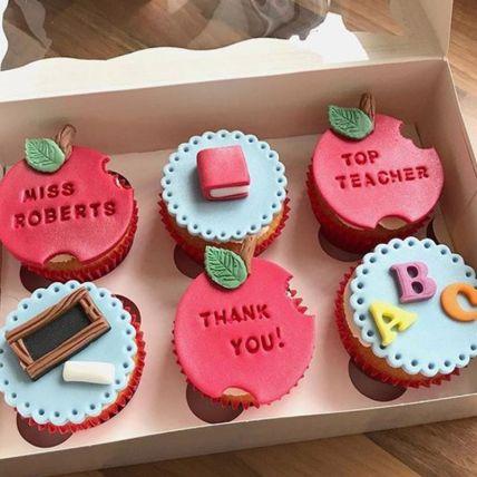 Best teacher Chocolate Cupcake