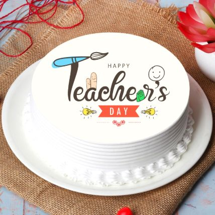 Happy Teachers Day Cake 1.5 Kg