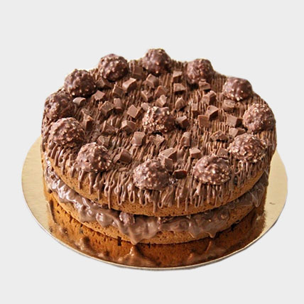 2 Layers Chocolate Chip Cookie Cake