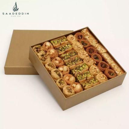 A Box of Luxury Baklava Mix Half Kg