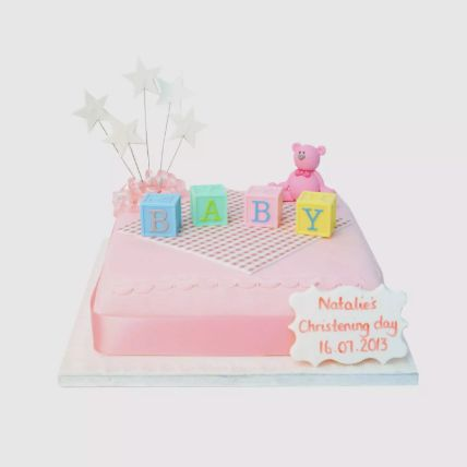 Baby Blocks Fondant Cake 1 Kg