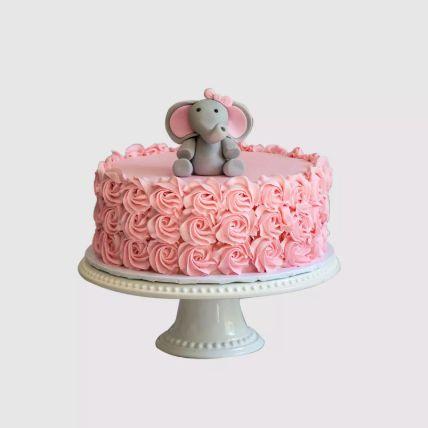 Baby Elephant Designer Cake Half Kg