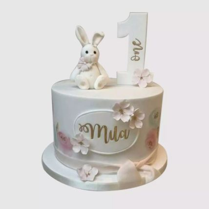 Cute Bunny Cake 1.5 Kg
