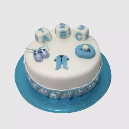 New Born Baby Adorable Cake 1 Kg
