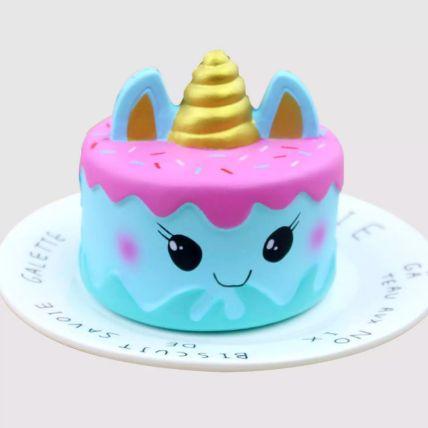 Adorable Unicorn Red Velvet Cake 1 Kg