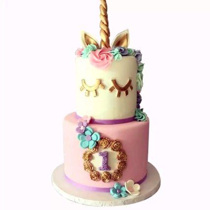 Designer Unicorn Red Velvet Cake 3 Kg
