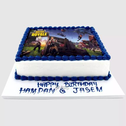 Fortnite Battle Red Velvet Cake 2 Kg