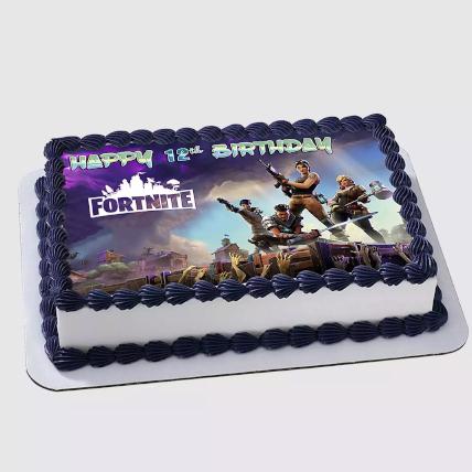 Fortnite Birthday Red Velvet Cake 2 Kg