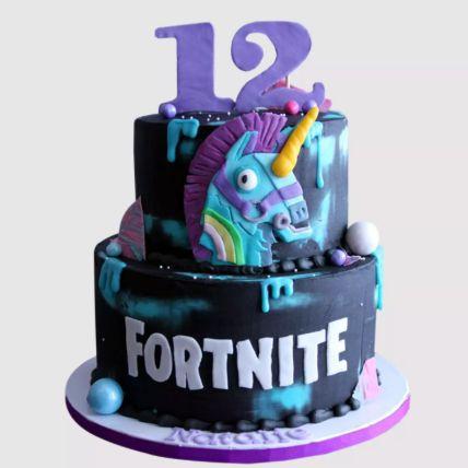 Fortnite Unicorn Cake Red Velvet Cake 2 Kg