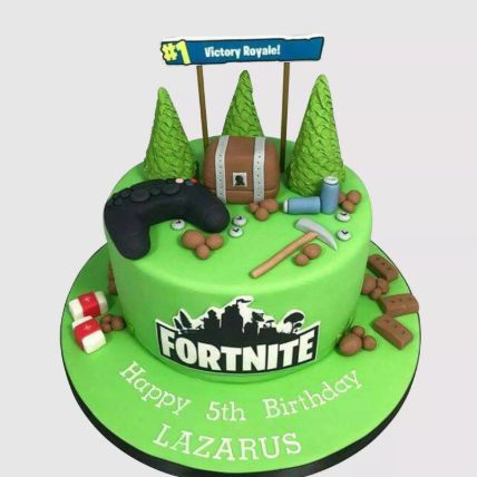 Fortnite Victory Royale Chocolate Cake 1.5 Kg