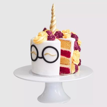 Harry Potter Unicorn Vanilla Cake 1.5 Kg