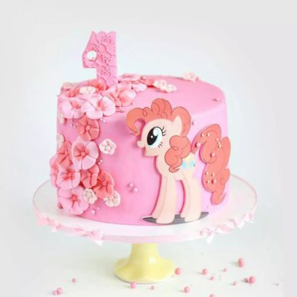 My Little Pony Pinkie Pie Red Velvet Cake 1.5 Kg