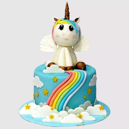 Mystic Unicorn Chocolate Cake 2 Kg
