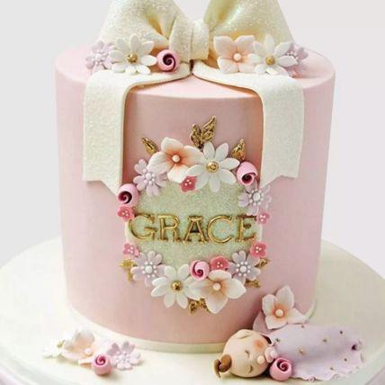 Pretty Bow Red Velvet Cake 2 Kg