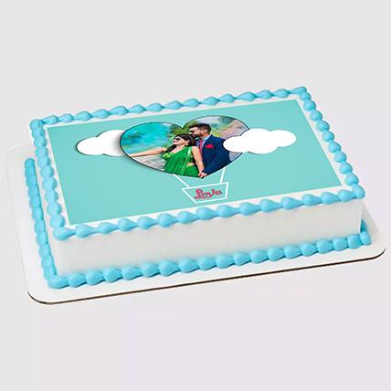 Unicorn Special Photo Chocolate Cake 1.5 Kg