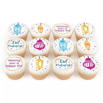 Eid Mubarak Theme Cup Cakes
