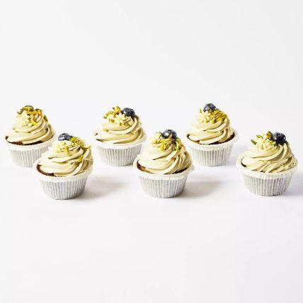 Pistachio Cup Cakes 24 Pcs