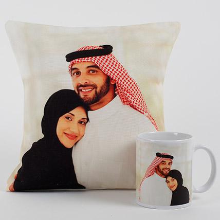 Lovable Personalized Cushion N Mug