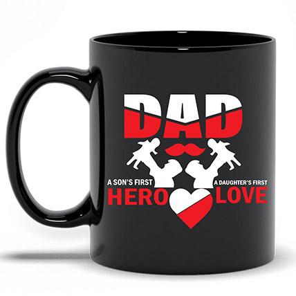 Black Fathers Day Mug