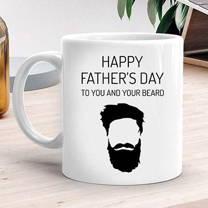 Happy Fathers Day White Mug