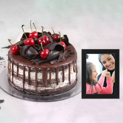 Black Forest Cake & Photo Frame
