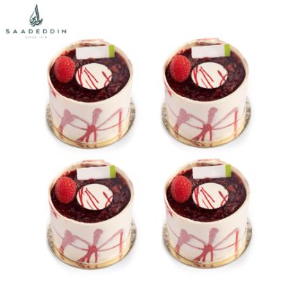 Rasberry Delice Piece 4 Pcs