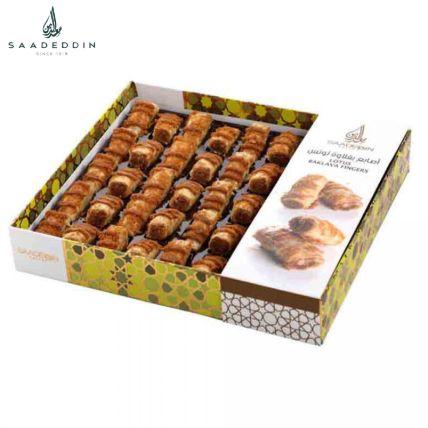 Delicious Lotus Baklava Finger Box