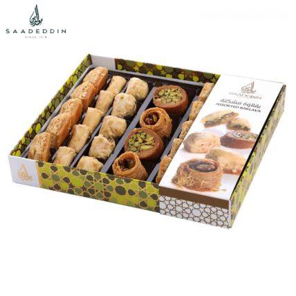 Palatable Medium Assorted Baklava Box