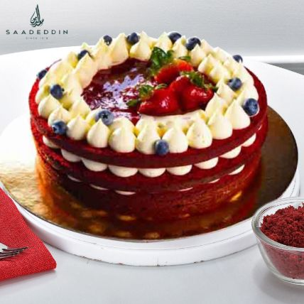 Red Forest Cake