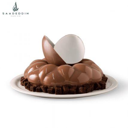 Scrumptious Kinder Chocolate Cake