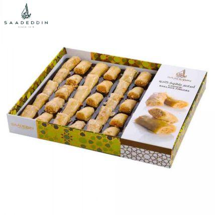 Appetizing Cashew Finger Baklava Box