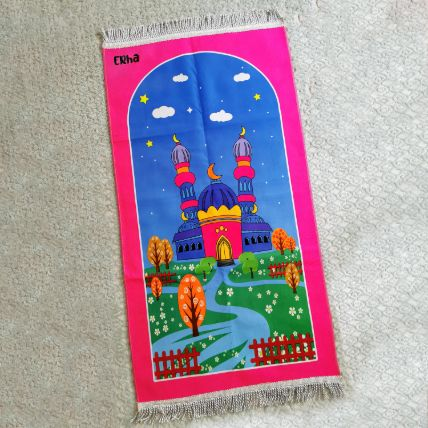 Kids Customized Prayer Mat