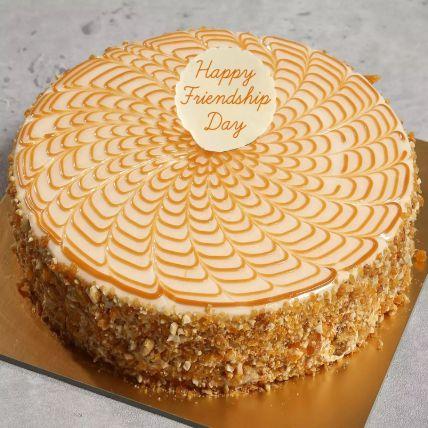 Friendship Day Butterscotch Cake 1.5 Kg