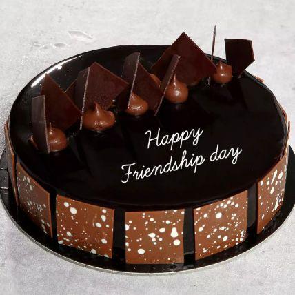 Friendship Day Choco Fudge Cake Half Kg
