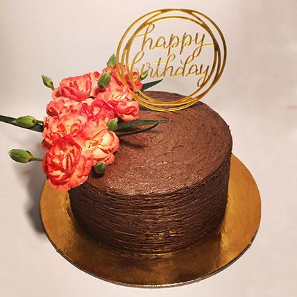 Happy Birthday Chocolate Cake- 1.5 Kg