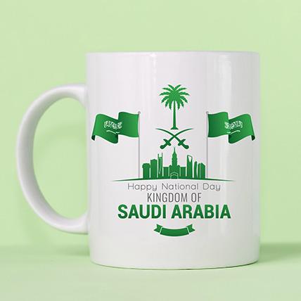 Happy National Day Printed Mug