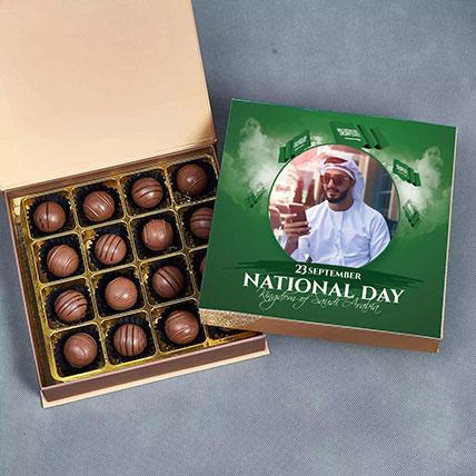 National Day Tempting Belgium Chocolate Box