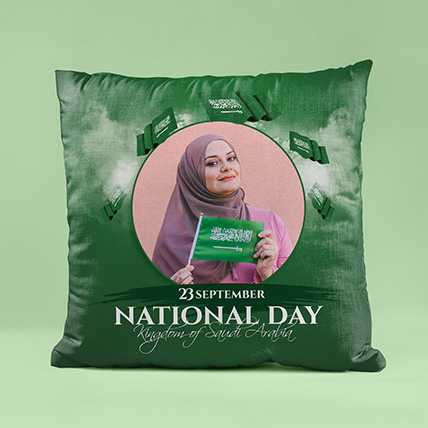 National Day Theme Cushion