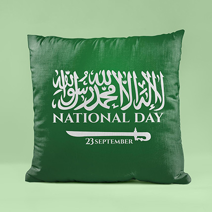 National Day Wishes Cushion