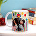 Personalised Colourful Birthday Mug