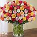 100 Mixed Roses Arrangement