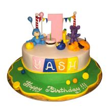 Pocoyo Cartoon Cake