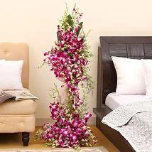 Royal Purple Orchid Arrangement